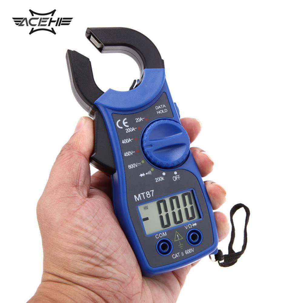 Gm Instruments Digital Clamp Meter : Lcd digital voltmeter ammeter ohmmeter multimeter ac dc