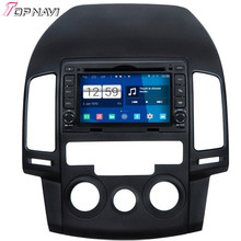 Newest Free Shipping Quad Core S160 Android 4.4 Car DVD For I30 Manual AC With16GB Flash GPS Bluetooth Wifi Mirror Link