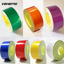 2cm*5m Car Stickers Car Motorcycle Bike Reflective Tape Decoration Film Decal Self Adhesive safety Warning Tape Car Styling