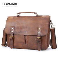 100 Genuine Leather Men S Briefcases Male Business Handbags Causal Laptop Bags Large Messenger Bag Travel