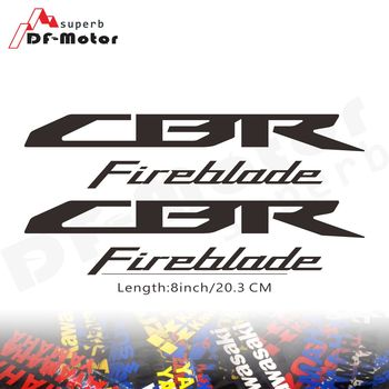 8Inch Reflective Sticker Decal Motorcycle Car Sticker Wheels Fairing Helmet Sticker Decal For Honda CBR Fireblade 1000RR image
