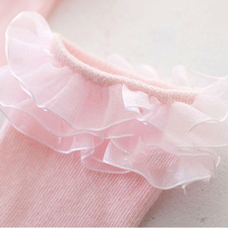 Baby Girls Lovely Soft Cotton Socks Kids High Knee Child Hosiery Warm Baby Wear
