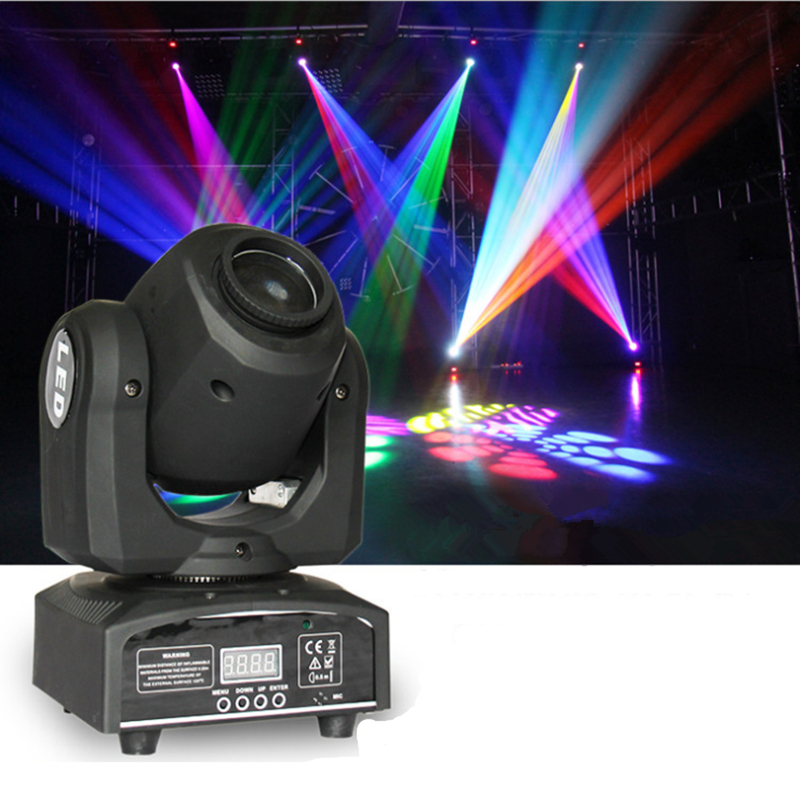 Mini Moving Head Light RGBW LED Patterns Stage Lights DMX512  Professional 9/11 Channel Party Disco Show DJ Showing Lighting  moving head spider lights cree led 8x10w rgbw moving head show light disco ktv dj club show bar led stage lighting