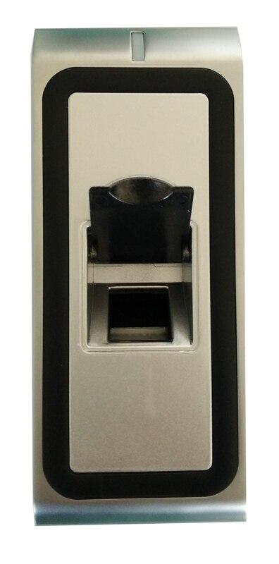 Lecteur de doigt en métal support doigt et carte d'identité USB télécharger wiegand26 sortie utilisation pour se connecter à la carte de contrôle d'accès, sn: F2