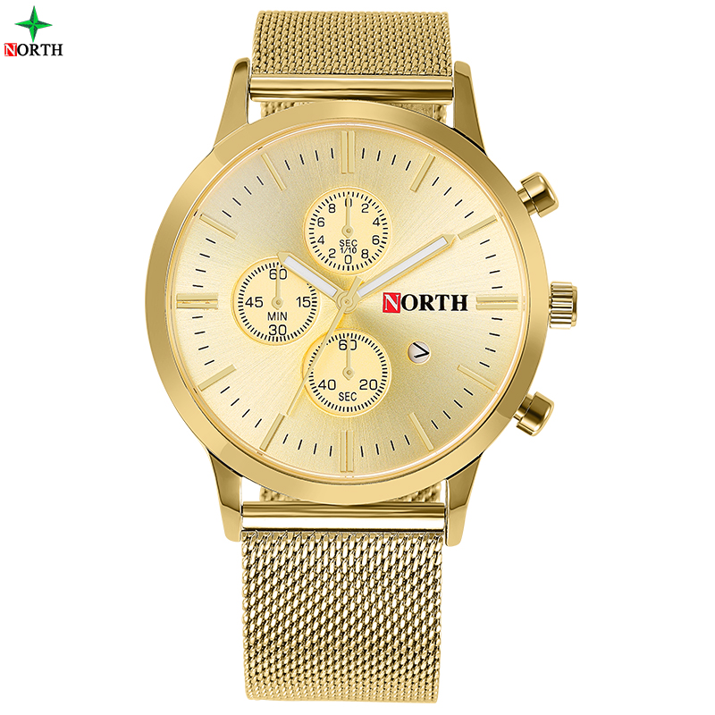 Quartz Watches Men Full Stainless Steel Male Wrist Watch 30M Waterproof Clock Casual Gold Wristwatches Analog Quartz-Watch Men bailishi diamonds hour stainless steel wrist watch male clock men sports watches men s casual quartz watch waterproof watches