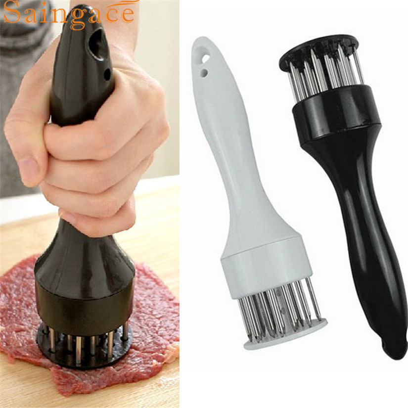Homey Design Kitchen Tools Profession Meat Meat Tenderizer Needle With Stainless Steel Kitchen Tools Levert Fast Ship feb28
