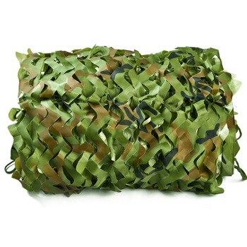 2.5x8M Woodland Camouflage Tenda Tenda Army Camo Nascondere Mesh Ombra Giardino Netto Ripari per il sole Oudtdoor Ombra Vele per campeggio di caccia