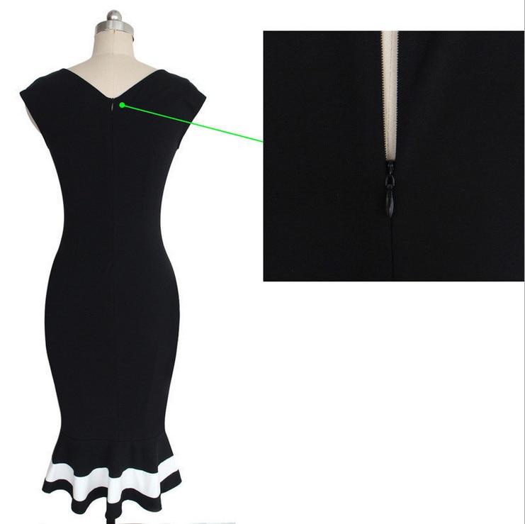 Büyük bahçesinde Yeni Bayan Zarif Parti Giymek Womens Zarif Optik - Bayan Giyimi - Fotoğraf 6
