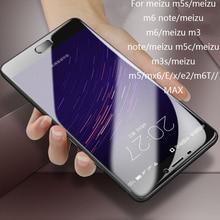 Hydrogel Film For Meizu M5S m3s m5 m6 m5c Soft Film For Meizu m6 note m3 note Ultra Thin Protecter Screen (Not Glass)