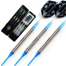 CUESOUL Swords Series 18 Grams 95% Tungsten Soft Tip Darts Set 011 cuesoul 18 grams soft tip tungsten darts 85