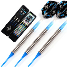лучшая цена CUESOUL Swords Series 18 Grams 95% Tungsten Soft Tip Darts Set 011