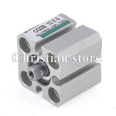 CQ2B Series 12mm Bore 5mm Stroke Pneumatic Compact Thin Air Cylinder