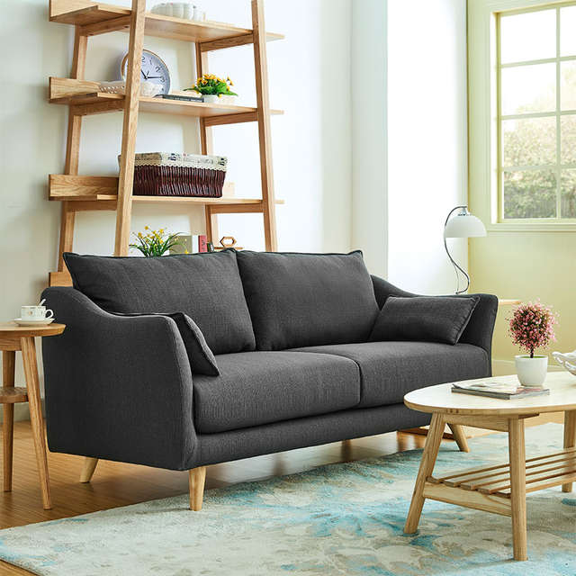 US $350.0 |Simple European small living room, small apartment sofa, single  person two people, three rooms, Japanese style cloth sofa-in Living Room ...