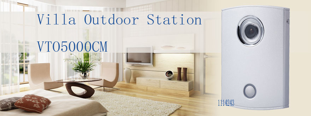 In Stock Free Shipping Video Intercom Doorbell Analogue Products Villa Outdoor Station Without Logo VTO5000CM free shipping 5pcs in stock mtd2003f sop