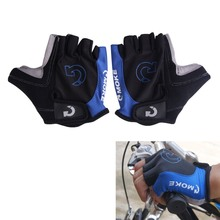 Breathable Cycling Half Finger Gloves Anti Slip Soft Gel Padded Motorcycle MTB Bike Gloves Road Bicycle