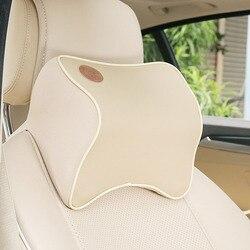Dongzhen 1X авто подушка пространство Memory Foam Ткань шеи подголовник автомобиля крышка Автомобильная Подушка подголовник сиденья шеи аксессуары