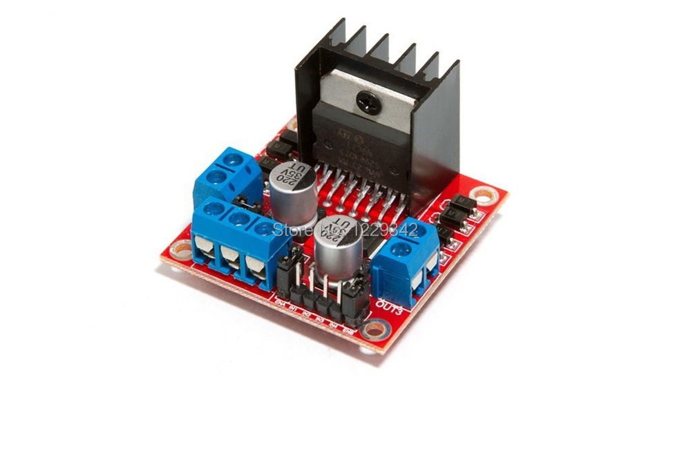 L298n dual h bridge stepper motor driver controller board for Raspberry pi stepper motor controller