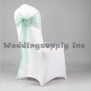 200 Premium CHEAP SAGE Organza Chair Cover Sashes for Wedding organza sheer Chair Sash free shipping & 200 Premium CHEAP SAGE Organza Chair Cover Sashes for Wedding ...