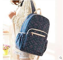 2017 новый студент сумка женская сумка Корейской версии школы путешествия путешествия мешок компьютера