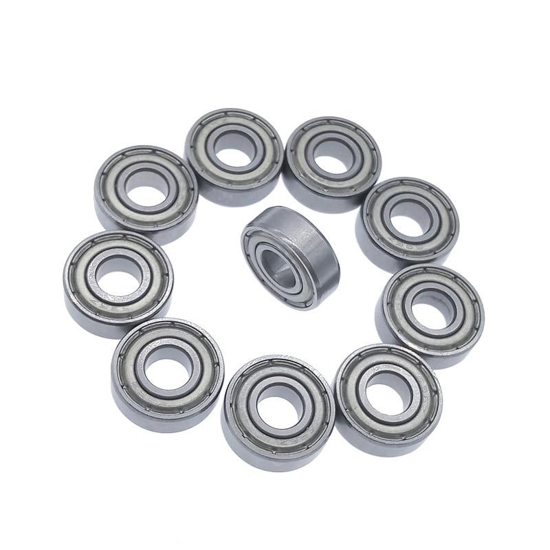 10pcs/lot 696ZZ Bearing 696 696Z Miniature Bearings 6*15*5mm Deep Groove Ball Bearing Carbon Steel
