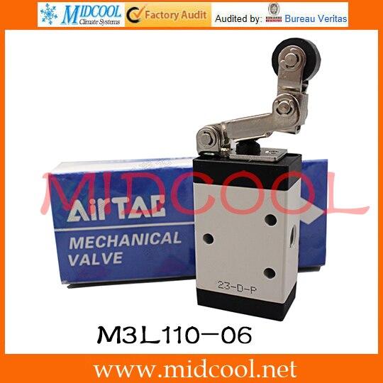 Original AirTAC Control valve(3/2way) M3 Series M3L110-06 original airtac control valve m3 series