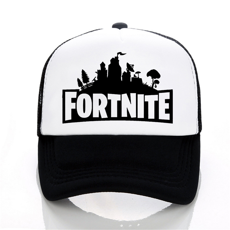 New Arrivals Daft Punk Male cap Fortnite 3d Print baseball cap Fashion Men women summer Mesh cap trucker cap