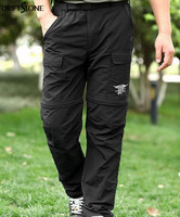 Mens Navy Seals Breathable Ultra Light Fast Drying Pants Zip Off Quick Drying Tactical Pants S
