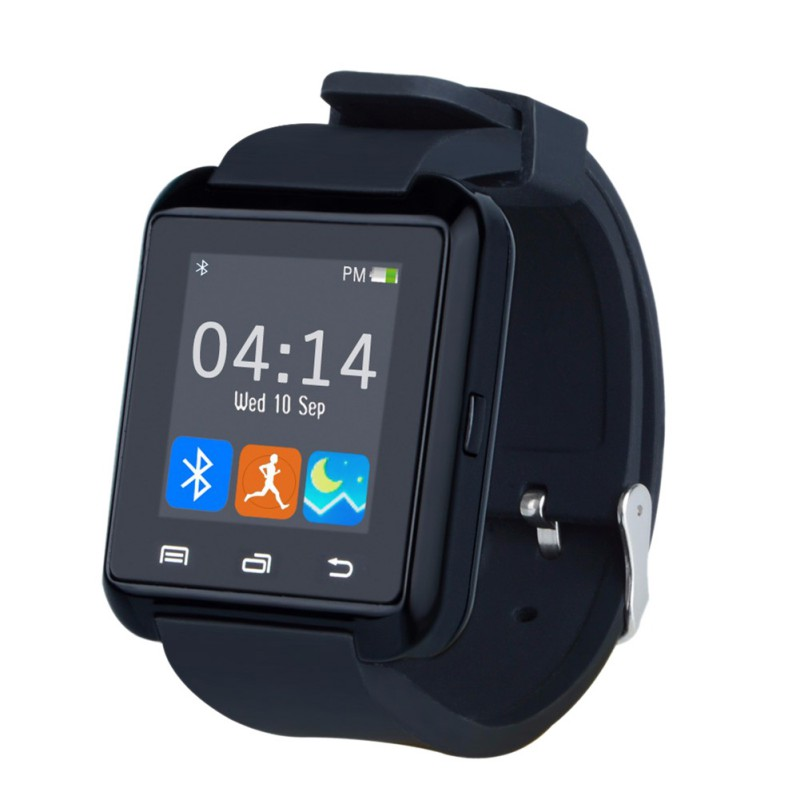 U8 Smartwatch Bluetooth Smart Watch Message Call Notification Fitness Tracker Passometer with Sim Slot for iPhone Android Phones