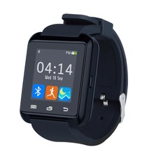U8 smartwatch bluetooth smart watch mensaje de notificación de llamada gimnasio rastreador pasómetro con ranura sim para iphone teléfonos android