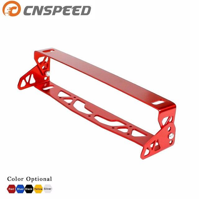 Envío gratis Universal Car Styling CNSPEED Giratoria Ajustable Placa ...