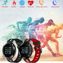 DM58 Bluetooth Esportes de Freqüência Cardíaca Pulseira smartband Banda Inteligente pulseira Heart Rate Monitor de Pressão Arterial inteligente PK mi banda 2 # C0