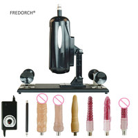 FREDORCH F2 New Package Sex Machine Massage Tool Automatic Hand Free Adult Product Intimate Goods with 6 Dildo Accessories