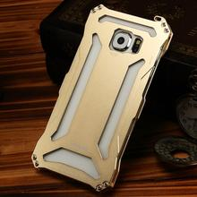 2016 Shock Proof Aluminum Metal For Samsung Galaxy S6 Case Transformer Cover For Samsung Galaxy S6 G9200 Back Cover