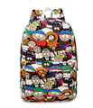 2017 South Park Cartoon Women Backpacks School Bags For Teenage Girls College High School Casual Daily Backpack For Student Bags