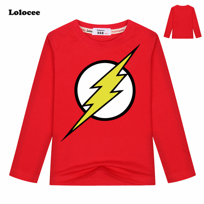 Comic Super Hero T Shirt Superman Batman the Flash Cartoon Movie Kids Boys Cosplay T-Shirts 100% Cotton Tshirt 2018 Brand New женская футболка other 2015 3d loose batwing harajuku tshirt t a50