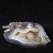 цены на crocodile Sobek sculpture Natural Stone agate  geode Crystal clust hand engraving home decoration accessories Stone work Statue  в интернет-магазинах