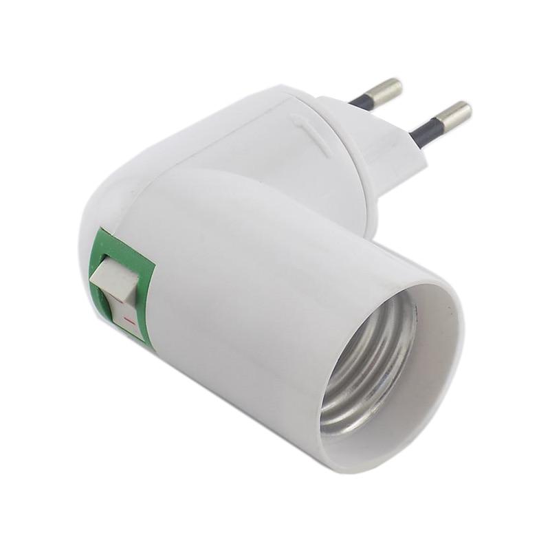 Adjustable E27 Lamp Bulb Bases Socket Adapter Plug Holder 360 Degrees Adaptor Converter 100-230V Lighting Light For Home Room
