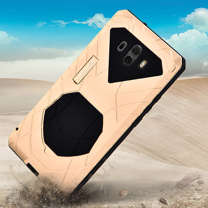 Прочный чехол для Huawei Mate 10 Pro противоударный резиновый и Алюминиевый металлический защитный жесткий Гибридный чехол для Huawei Mate 10