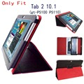 Tab 2 10.1 p5100 p5110 Case Flip Stand pu Leather Folio Cover Case for Samsung Galaxy Tab 2 10.1 Tablet GT-P5110 P5100 case