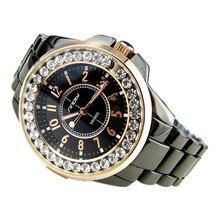 SINOBI de Lujo Rhinestone Mujeres Relojes de Acero Completo Reloj de Señoras de Las Mujeres Horas Reloj de Cuarzo relogio feminino reloj mujer montre femme