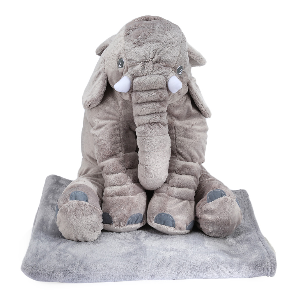 buy colorful giant elephant stuffed animal toy cotton plush animal toy doll. Black Bedroom Furniture Sets. Home Design Ideas