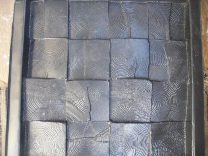 Angemessen Kunststoff Formen 3d Kunststoff Dekorative Wand Panels Holz Block Preis Für 1 Stücke Größe 500x500x30mm Neue Design 2017 Jahr Quell Sommer Durst