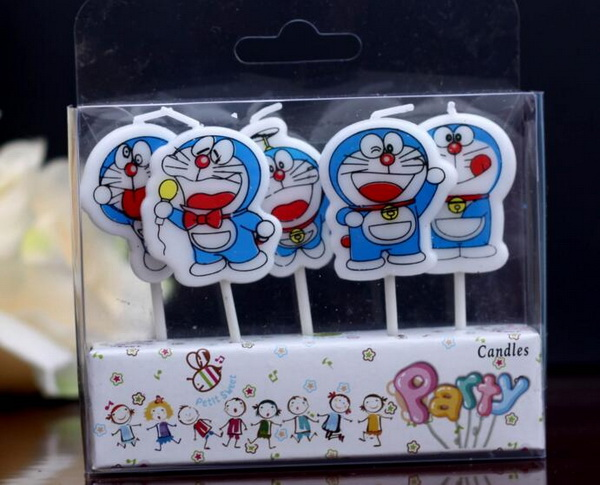 120 Setslot Lucu Doraemon Anak Ulang Tahun Lilin Pesta