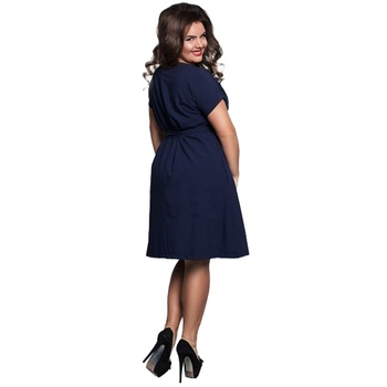 6xl Sexy Party Plus Size Maxi Straight Solid Dresses with belt Elegant Ladies Women Dress Loose Large Sizes Slim Office Vestidos 2