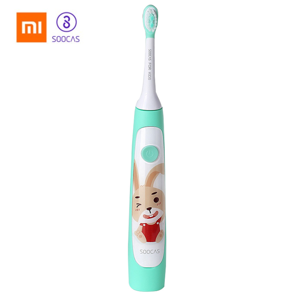 Xiaomi SOOCAS C1 Cute Waterproof Sonic Electric Toothbrush For Kids Rechargeable Ultrasonic Toothbrush Dental Care Tooth Brush 31000 min sonic vibration electric rechargeable toothbrush health care ultrasonic tooth brush for kids