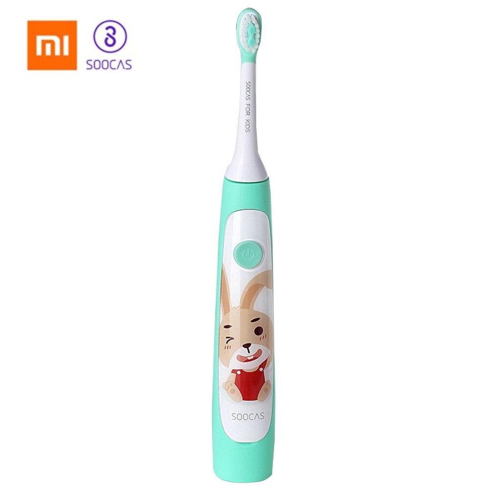 Xiaomi SOOCAS C1 Wasserdicht sonic Elektrische Zahnbürste Für Kinder Drahtlose Lade Wiederaufladbare Ultra sonic Zahnbürste