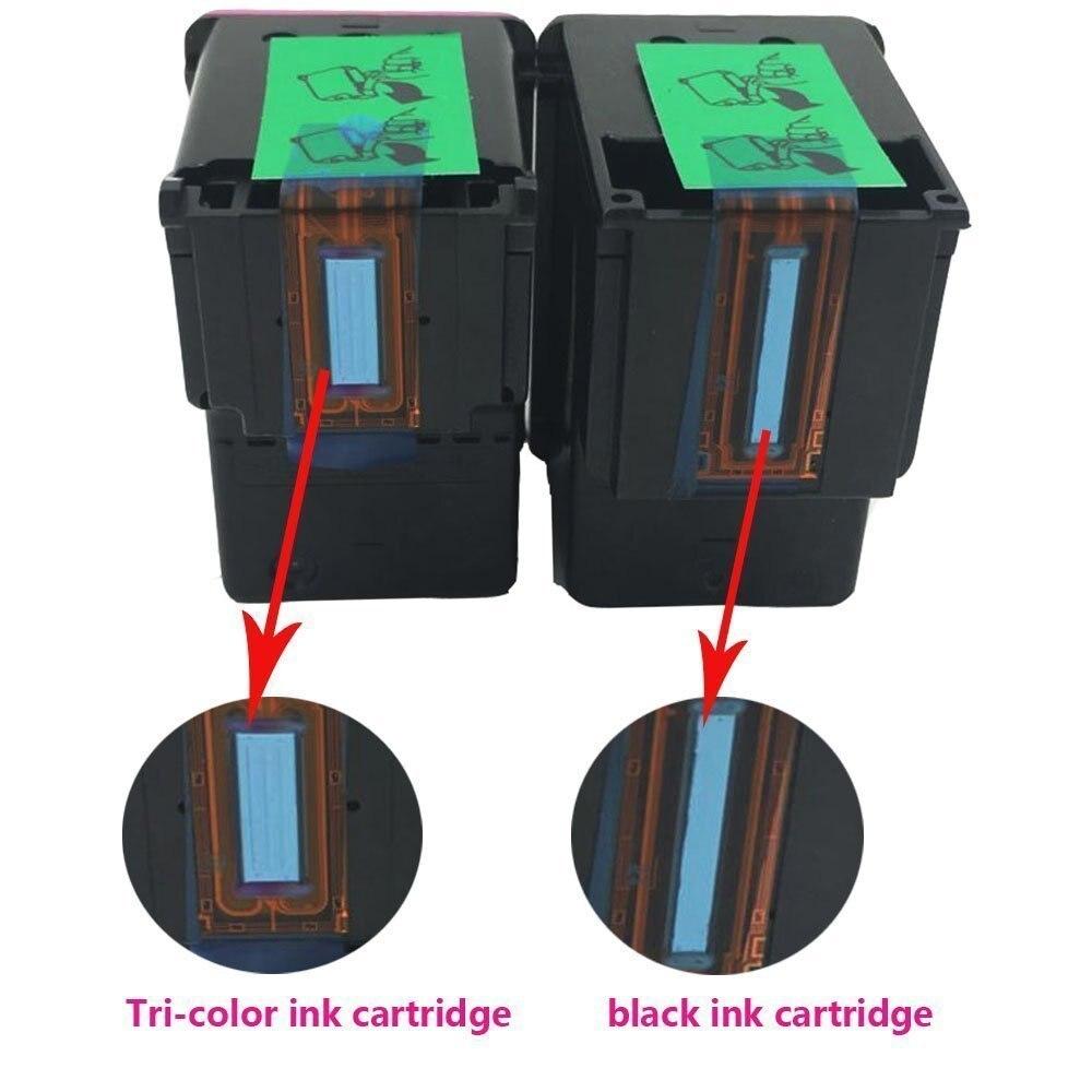 CP 304 の交換 HP304 304XL 用の Hp Deskjet の 3720 3721 3723 3724 3730 3732 3752 3755 3758 (3BK/3C)  グループ上の パソコン & オフィス からの インクカートリッジ の中 2