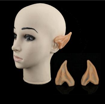 Cosplay Accessories Halloween Party Latex Soft Pointed Prosthetic Wizard Elf Fairy Hobbit Vulcan Spock Alien Costume Tips Ears image