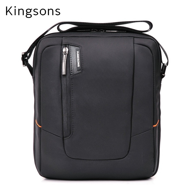 2017 Kingsons Brand Newest Messenger Bag For ipad 1/2/3/4, For 7,8,9.10 Tablet Mid, For Air 9.7 Free Drop Shipping. KS3021W hot brand bubm accessories storage bag for ipad mini 7 case for tablet 3 pcs in 1 suit handbag free drop shipping