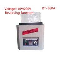 Reversing Magnetic Tumbler KT 360A 110V/220V Jewelry Polishing Machine Goldsmith Tools Capacity 1300g
